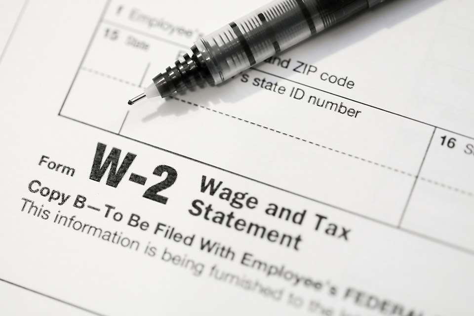 Lost Form W-2