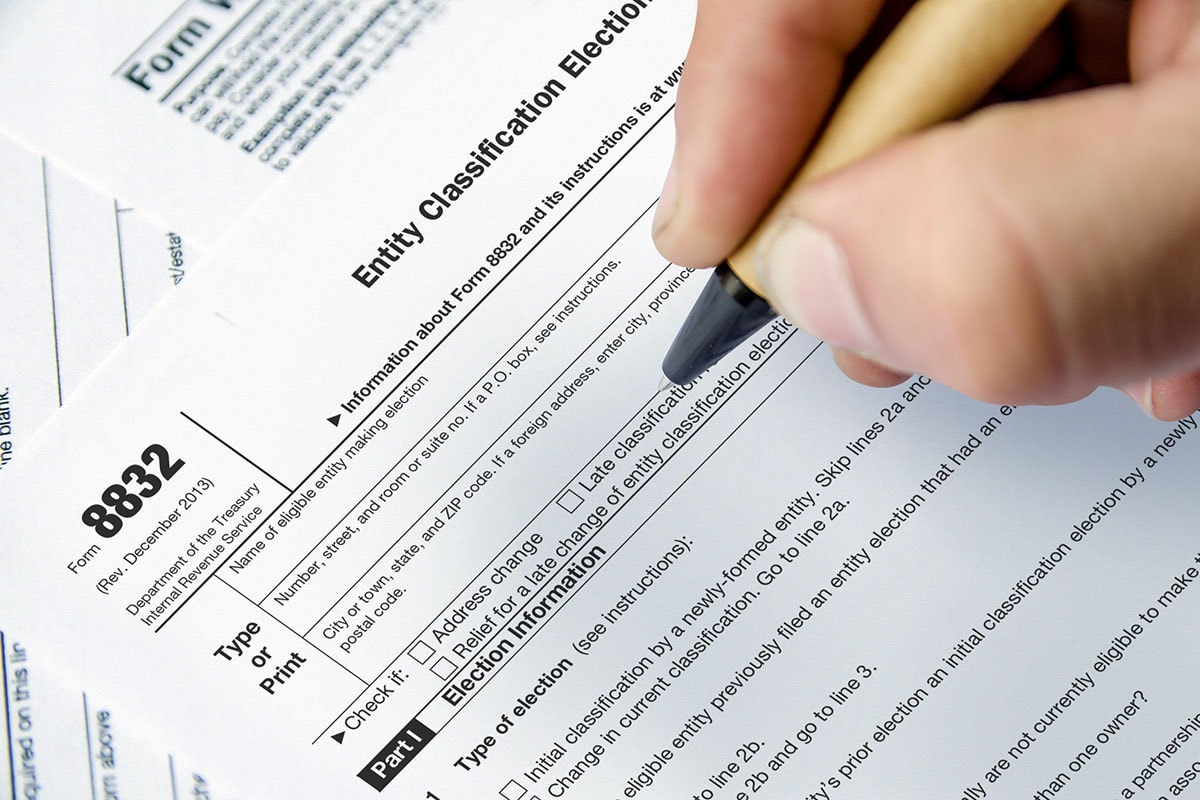 What is Form 8832 and How Do I File it?